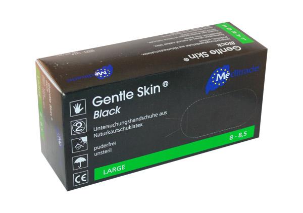 Gentle Skin Black Latex-Handschuhe