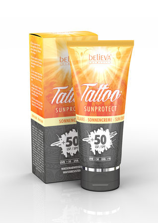 Believa Tattoo Sonnencreme SunProtect 100 ml